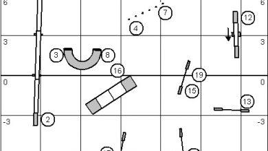 Grades 1-7 Agility Small Olympia Q